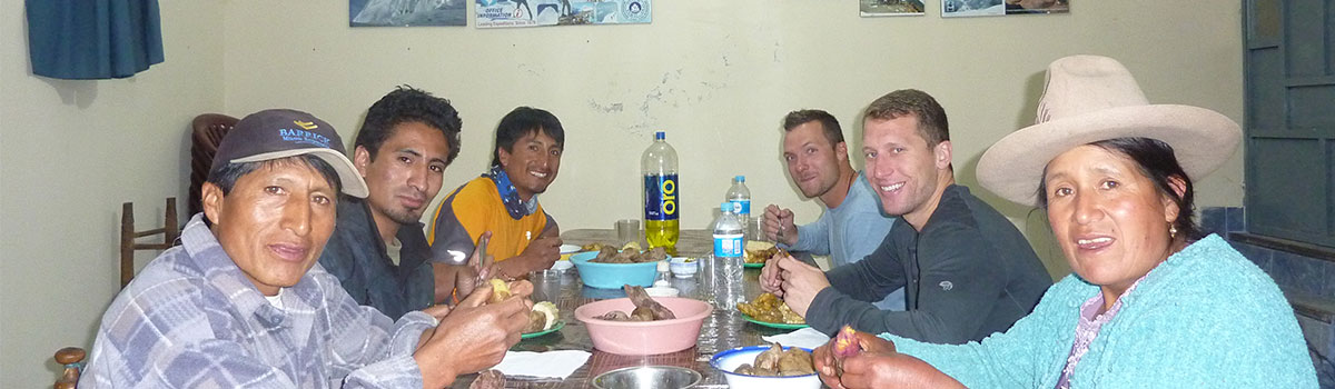Peru Expeditions Tours: Juventino's Family Home - Lodging & Mountaineering