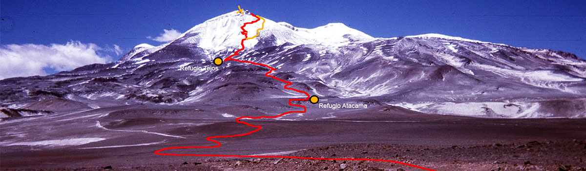 Peru Expeditions Tours: Expedition to Ojos de Salado ( 6.893 m) the highest volcano in the world