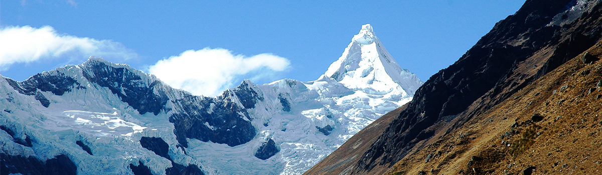 Peru Expeditions Tours: Trekking Cedros around the Nevados Alpamayo and Huascaran