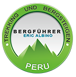 Mountain guide Certified professional guide of: Peru Expeditons Tours