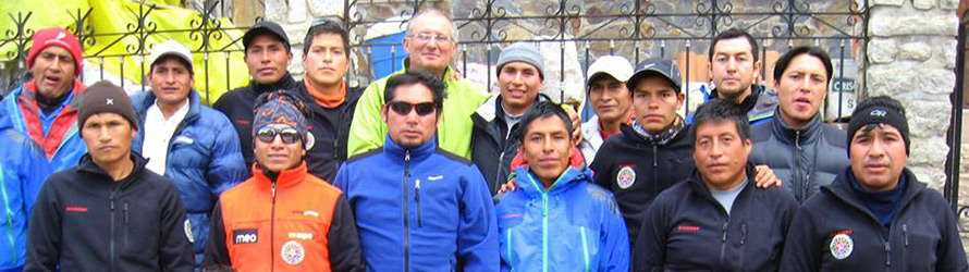 Trekking Guides from Peru member of UIAMLA