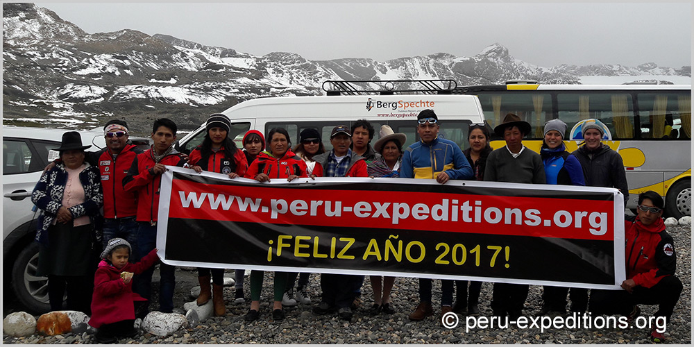 Peru Expeditions Tours Team 2017