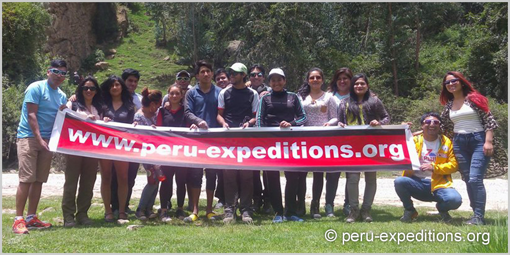 Peru Expeditions Tours Rock climbing team Huaraz