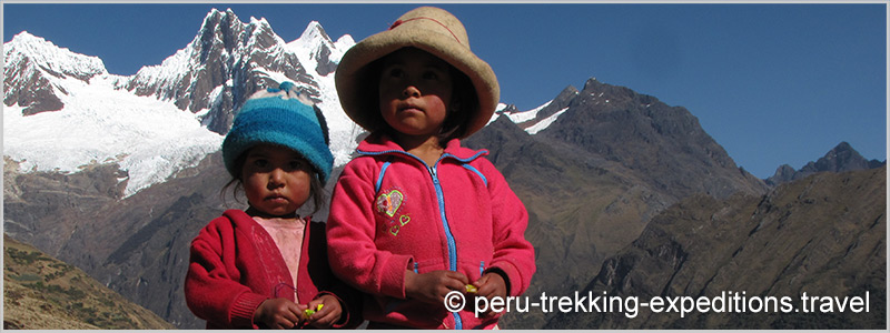 Peru: Trekking Cedros around the Nevados Alpamayo and Huascaran