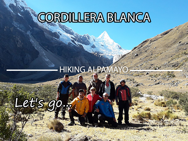 Hiking Alpamayo trek